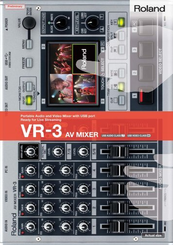 Sh mil Portable Audio and Video Mixer with USB port Ready for Live ...