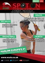Issue 22 - Squash Wales