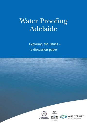 Waterproofing Adelaide - South Australian Policy Online