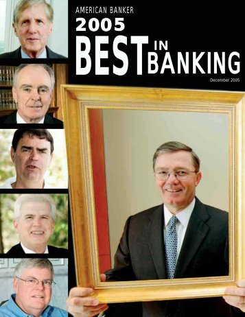 2005 Best in Banking Report - Professional Events