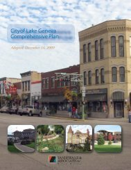 City of Lake Geneva Comprehensive Plan adopted 12-14-2009