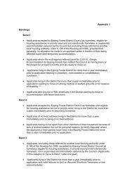 HAS Appebdix 1 , item 25. PDF 20 KB - Epping Forest District Council
