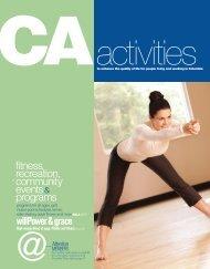CA activity guide - Columbia Association