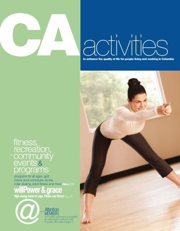 CA activity guide - Columbia Association