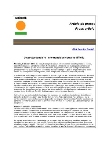 Article de presse Press article - St-Pierre-Jolys
