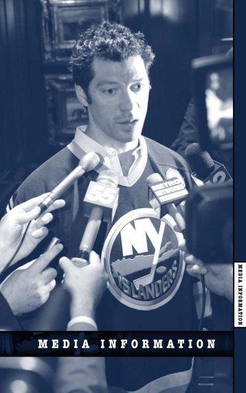 Media Information - New York Islanders