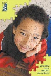 Serendipity Annual Report 2010-2011 - Serendipity Center