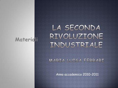 la seconda rivoluzione industriale (pdf, it, 2034 KB, 12/29/11)