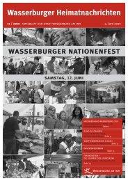 wasserburger nationenfest - Wasserburg am Inn!