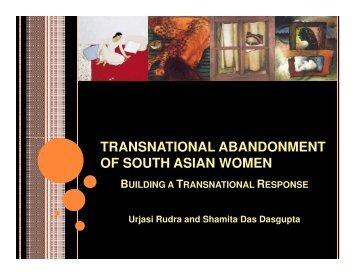 South Asian Women Organizations As