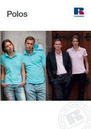 RUSSELL Poloshirts Broschüre 2012 (A5)zum Herunterladen