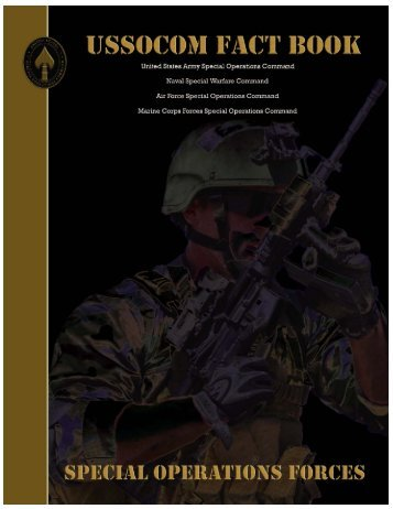 USSOCOM Fact Book - United States Special Operations Command