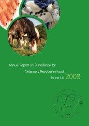 VRC Annual Report - 2008 - Veterinary Medicines Directorate - Defra