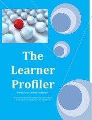 The Learner Profiler - Microlink PC