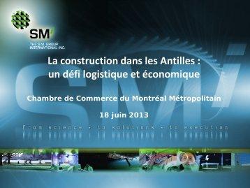 3. la construction aux antilles : un défi logistique et économique
