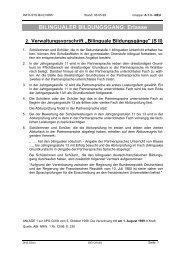 BILINGUALER BILDUNGSGANG: Erlasse - BILINGUAL-AG-NRW.de
