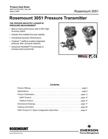 rosemount 3051s wireless pressure transmitter manual