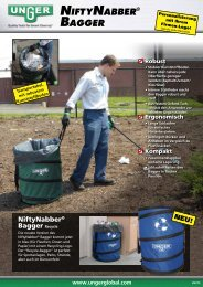 NiftyNabber® bagger & greifwerkzeuge Vielseitige Vorteile - Unger