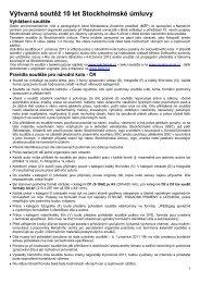 Propozice soutěže.pdf - Centrum pro výzkum toxických látek v ...