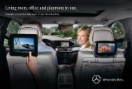 Living room, office and playroom in one. - Mercedes-Benz UK