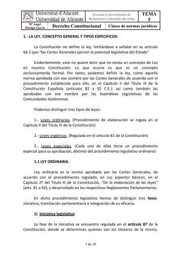 TEMA 5 Derecho Constitucional - Monovardigital