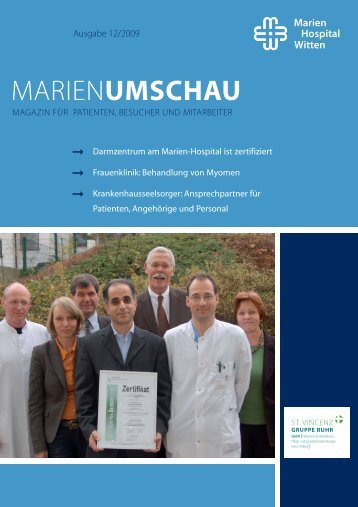 MARIENUMSCHAU - Marien-Hospital Witten
