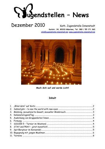 Newsletter Dezember 2010 - Katholische Jugendstelle im Dekanat ...