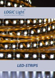 LED-STRIPS LOGIC Light - LOGIC Glas