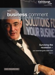 Surviving the recession – - The Edinburgh Chamber of Commerce