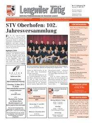 Ausgabe vom 16. März 2010 [PDF, 783 KB] - Gemeinde Lengwil