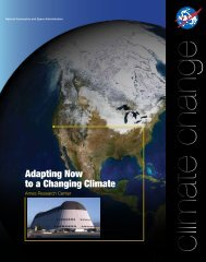 NASA Ames Research Center: Adapting Now to a Changing Climate