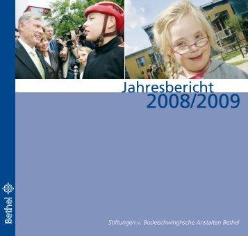 Jahresbericht - v. Bodelschwinghsche Stiftungen Bethel