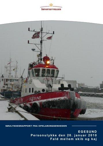 EGESUND Personulykke den 20. januar 2010 ... - Søfartsstyrelsen
