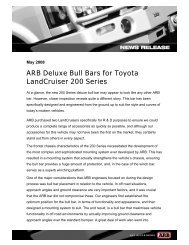 ARB Deluxe Bull Bars for Toyota LandCruiser 200 Series