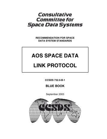 AOS Space Data Link Protocol - CCSDS