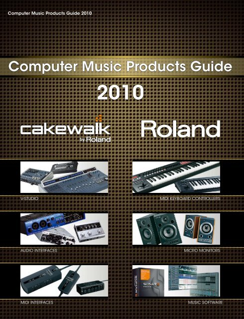 Computer Music Products Guide 2010 - Roland