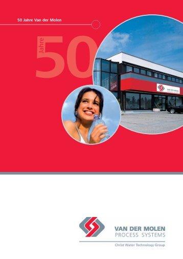 50Jahre - Van der Molen GmbH