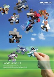 Honda in the UK