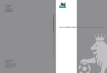 PL Charter Report - 2001/02 - Premierleague.com