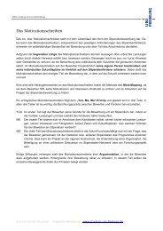 Infoblatt: Das Motivationsschreiben Stipendium - Albert-Ludwigs ...