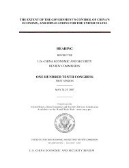 Hearing Transcript - U.S.-China Economic and Security Review ...