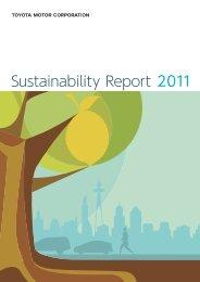 Sustainability Report 2011 - Toyota
