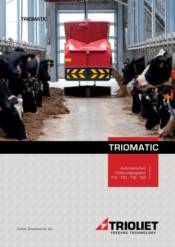 Broschüre Triomatic D - Trioliet