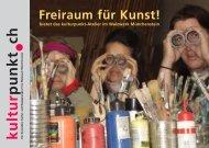 Freiraum für Kunst! - kulturpunkt