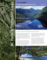 British Columbia's Parks and Protected Areas - Naturally:wood