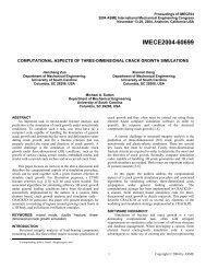 Zuo, Deng, Sutton, Proceedings of ASME International Mechanical ...