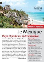 PDF :Mexique riviera Maya