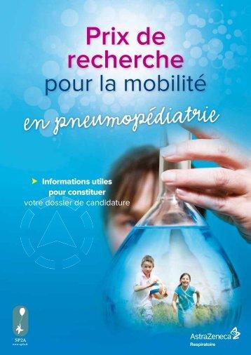 Prix de recherche - Société pédiatrique de pneumologie et d ...