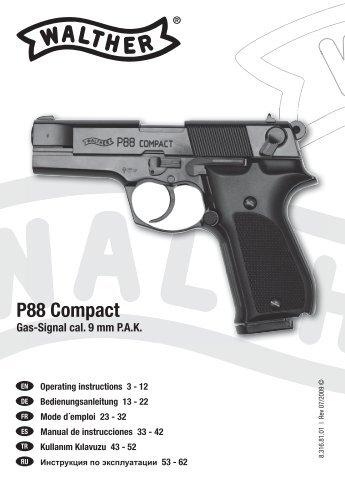 24 garantie consignes de rh yumpu com Walther BB Guns Walther PPK CO2 Pistol