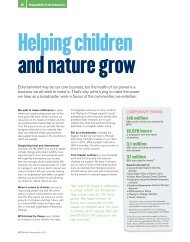 Helping children and nature grow - Universum Talent Networks